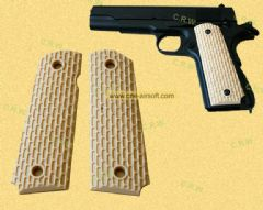 M1911 Kimber grip Tan/Black/OD